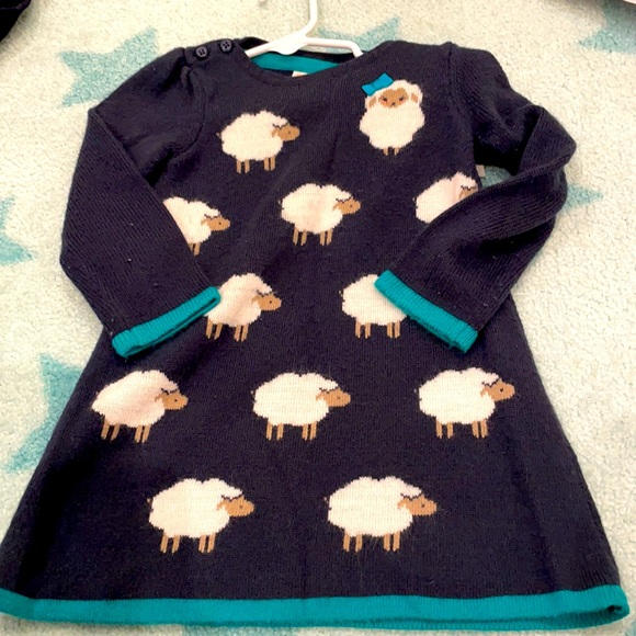 Cozy and cute Gymboree dress, warm and soft!